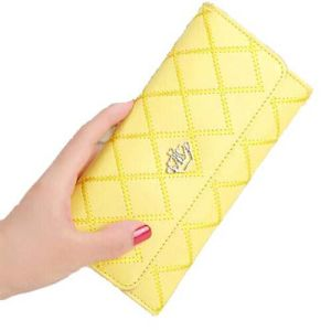 Fashion Wallet Lingge Stely Designer Purse (XQ0507) pictures & photos