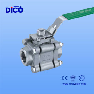 2000psi /2000wog 3PC High Pressure Ball Valve pictures & photos