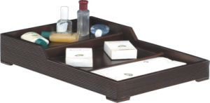 Mahogany MDF Board Wooden Amenities Tray pictures & photos