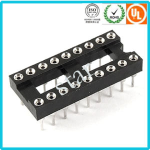 18 Pin Straight Pin Double Row 2.54mm IC Socket Adapter pictures & photos
