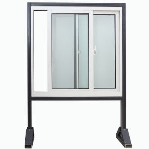 Latest Design Double Glazing Aluminum Sliding Window Tempered Glass