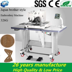 Computerized Single Needle Pattern Brother Industrial Sewing Embroidery Machine pictures & photos