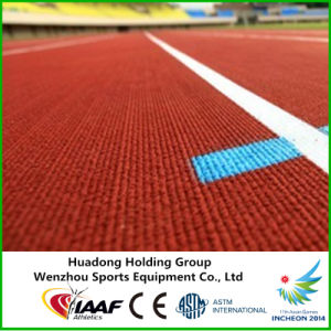 ASTM Approved Sports Run Prefabricated Synthetic Rubber Athletic Track pictures & photos
