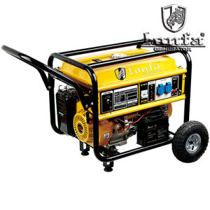 5kVA 220V Gasoline Engine 188f with Hand and Wheels pictures & photos