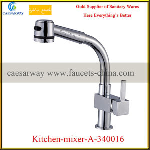 Brass Pull out Spray Kitchen Sink Tap pictures & photos