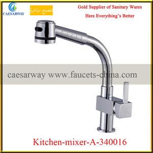 Brass Pull out Spray Kitchen Sink Tap