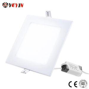 Square Slim 18W LED Panel Lighting with Ce RoHS