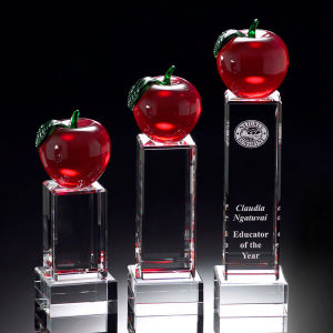 Educators Merit Deluxe Crystal Apple Award (#10521, #10522, #10523) pictures & photos