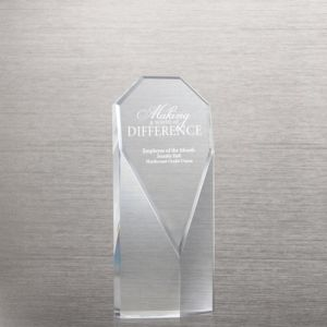 Diamond Executive Beveled Crystal Trophy for Celebrating Achievements (#76355) pictures & photos
