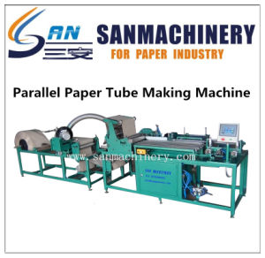 PLC Control Automatic Parallel Paper Tube Making Machine pictures & photos