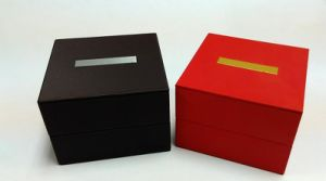 Luxury Leather Red Watch Box pictures & photos