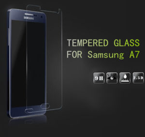 Tempered Glass Screen Protector for Samsung A7 0.33mm 2.5D Film pictures & photos
