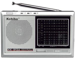 Kchibo Analong Radio Kk-913A FM/MW/Sw1-10 12 Band Receiver Radio