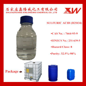 Sulfuric Acid 98% 96% 40% 32.5% (China Manfacturer) pictures & photos
