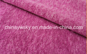 Polyester Thick Yarn Polar Fleece Cationic pictures & photos