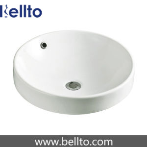 Round Ceramic Vanity Top Basin for Bathoom Sanitary Ware (6238) pictures & photos