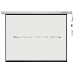Electric Projector Screen with High Quality pictures & photos
