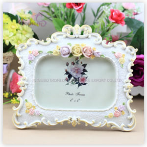 "Home Decoration Classic Resin Love Photo Picture Frame (4""X6"") pictures & photos"
