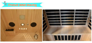 2016 Far Infrared Sauna for 3 Person-H3 pictures & photos