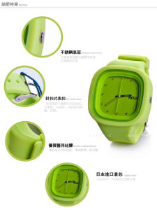 High Quality Interchangeable Japan Quartz Movement Silicone Jelly Watch pictures & photos