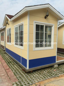 Low Cost Outdoor Mobile Prefabricated/Prefab Guard House for Hot Sale pictures & photos