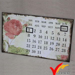 Luckywind Metal Antique and Shabby Wall Art Calendar pictures & photos