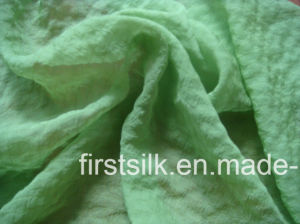 Polyester Crinkle Chiffon Fabric pictures & photos
