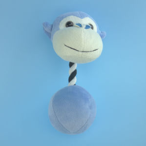 Plush Pet Monkey Toy with Embridery Eyes pictures & photos