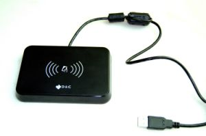 Contact, Contactless Smart IC Card Reader (D8) pictures & photos