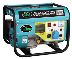 Motor Coupled Generator Taizhou 1 kVA Gasoline Generator 168f pictures & photos