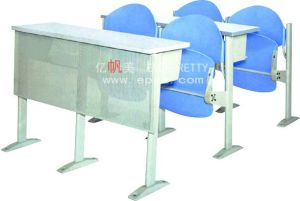 2015 Popular Modern Plastic College Desk and Chair/College Classroom Furniture of Classroom/College School Furniture pictures & photos