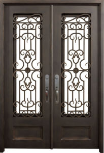 Customized Wrought Iron Gate pictures & photos
