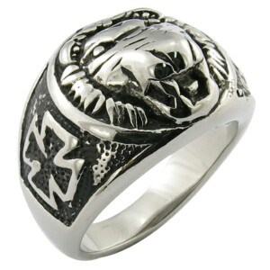 Stainless Steel Skull Biker Ring pictures & photos