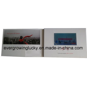 LCD Screen Video Brochure with Holder pictures & photos