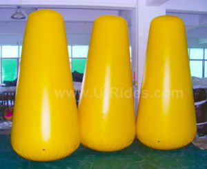 Yellow 2.5m Height Inflatable Marker Buoy Float pictures & photos