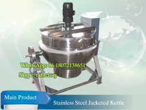 200L Electric Heating Jacketed Kettle pictures & photos