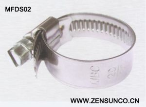 German Type High Quality Worm Drive Hose Clamp 12mm pictures & photos