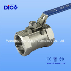 Heavy Type Manual Handle 1PC Ball Valve with Lock pictures & photos