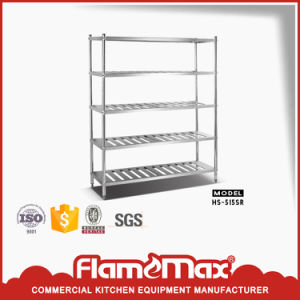 5-Tier Perforated Storage Shelf (HS-515S) pictures & photos