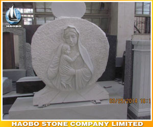 Monument with Carved Saint Mary and Christ pictures & photos