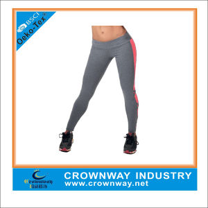 High Waisted Gym Sports Workout Leggings with Criss-Cross Design pictures & photos