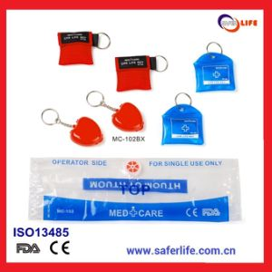 2015 Present Kit for Promotional CPR Shield Manufacturer CPR Shield Promotion Products CPR Shield Gift Premium pictures & photos