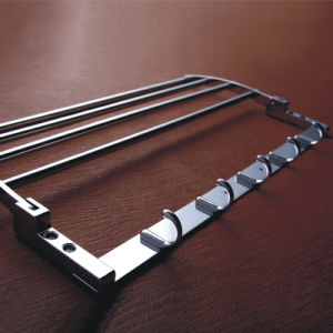 High Quality Stainless Steel Bathroom Furniture Towel Shelf Holder (M07) pictures & photos