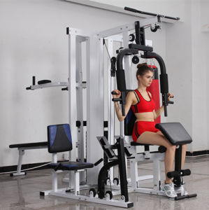 Multi Station Home Exercise Equipment with Sit up Bench pictures & photos