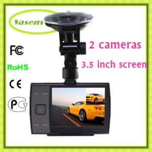 3.5 Inch Dual Lens Vehicle Data Recorder Camera pictures & photos