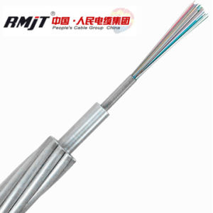 Opgw Cable Optical Fiber Cable Overhead Ground Wire for Synchronous Communication pictures & photos