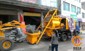 for Sale Concrete Mixer and Hydraulic Pump Truck pictures & photos