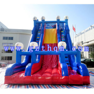 Outdoor Large Slide Inflatable Water Slides pictures & photos