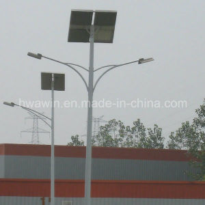 Double Arm 30W*2 LED Light Source Solar Street Light pictures & photos