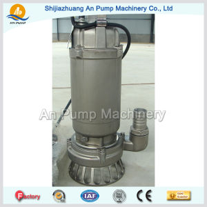 Stainless Steel Body Iron Impeller Submersible Sewage Pump pictures & photos